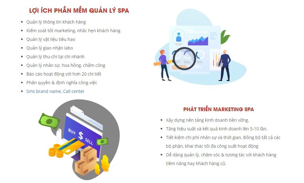 Lợi ích phần mềm quản lý spa