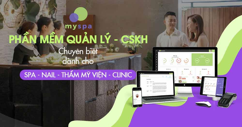 Phần mềm quản lý spa - My spa